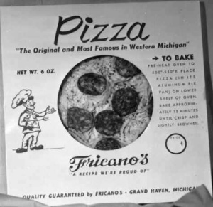 Frozen Pizzas were once sold!